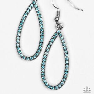 Twilight Shimmer - Blue earrings